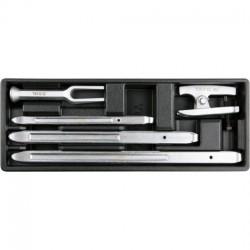 YT-55477 Automobilių dirbtuvių įrankių rinkinys - 5 dalys