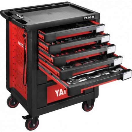 YT-55293 Wózek narzędziowy - zestaw 165 części