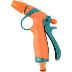89193 Pistoletas purkštuvas reguliuojamas plastiko flo