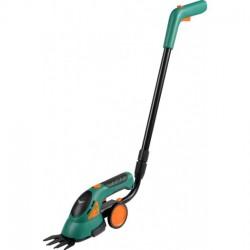 79501 Nożyce akumulatorowe 3,6V na kółkach, do trawy i żywopłotu