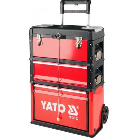 YT-09102 3 dalių įrankių vežimėlis