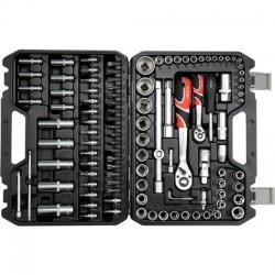 """YT-38791 Zestaw narzędziowy 1/2"""" 108 części L"""
