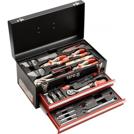 YT-38951 Įrankių dėžutė 80 dalių