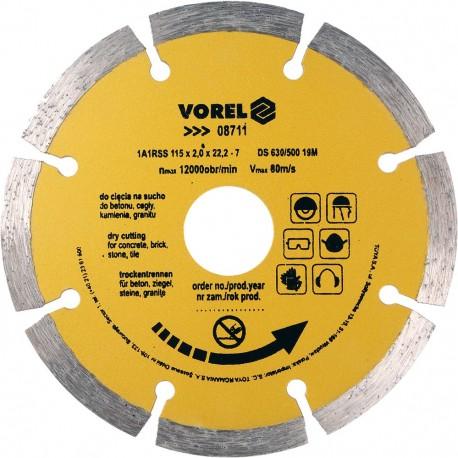 08711 Deimantinis diskas 115mm segmentas