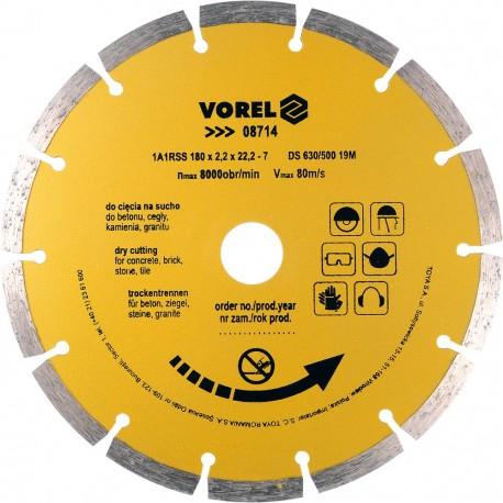 08714 Deimantinis diskas 180mm segmentas