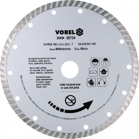 08754 Deimantinis diskas 180mm, turbinos segmentas
