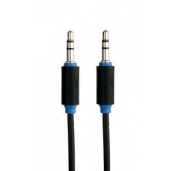 7300-150 Kabel Voice Kraft 7300 1,5m wtyk 3,mm - wtyk 3.5mm czarny audio