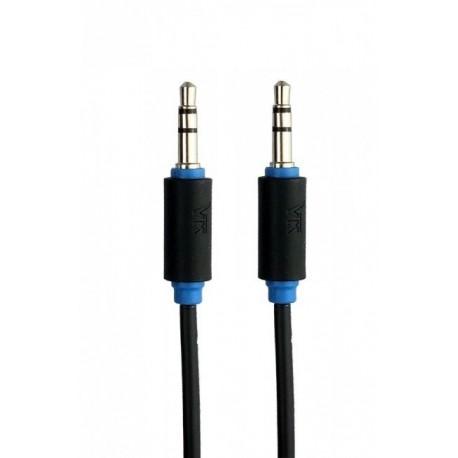 7300-150 Balso Kraft 7300 kabelis 1.5m 3.mm kištukas - prijunkite 3.5mm juodą garsą