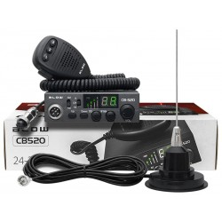 24-302 Radio CB Blow CB520 + antena CB 825M