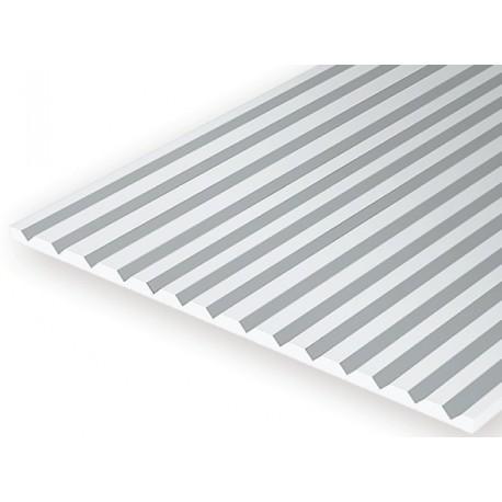 V-Groove lenta gr.0.5mm nuo 3.2mm POLYSTYRENE HIPS