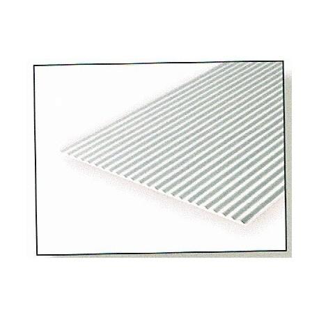Metalo dailylentės plokštės 1,0x0.75mm POLISTIRENO KLUBŲ