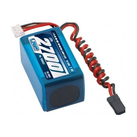 2700mAh 7.4V LiPo VTEC RX-Pack 2/3A - imtuvas
