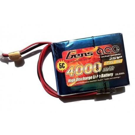 4000mAh 7.4V 5C RX Gens Ace - imtuvas