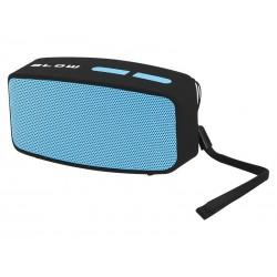 """30-313 nešiojamas """"Bluetooth"""" garsiakalbis kolonėlė BT150 FM / juoda ir mėlyna"""