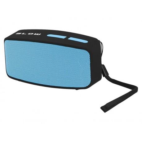30-313 Głośnik przenośny bluetooth BT150 FM / czarno-niebieski