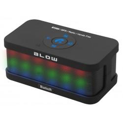 30-315 Bt200 FM Bluetooth Nešiojamasis garsiakalbis / Juoda