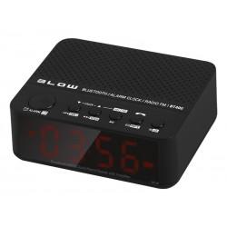"""30-314 Nešiojamasis """"Bluetooth"""" garsiakalbis BT400 FM laikrodis"""
