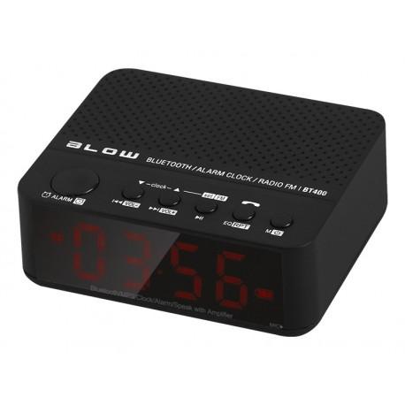 """30-314 nešiojamas """"Bluetooth"""" garsiakalbis BT400 FM laikrodis"""
