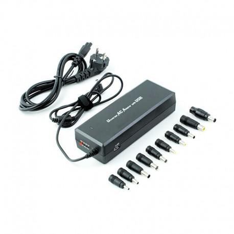 2LAPAC1201 Zasilacz laptopowy AC 120W + USB
