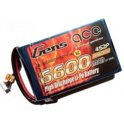 6600mAh 14.8V 35C Butas Pack Gens Ace