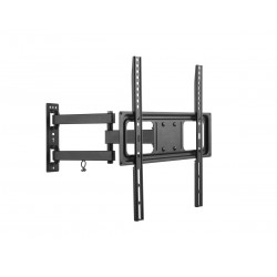 """UCH0204 32-55 """"rankena, juoda LPA52-443 TV laikiklis (reguliuojama vertikaliai ir horizontaliai)"""