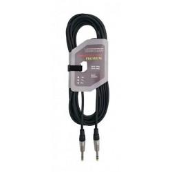 8075-10 6.3 stereo kištuko kabelis - 6.3 stereo kištukas VK8075 10m