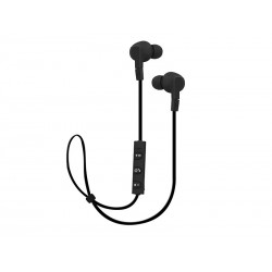 """32-776 """"Bluetooth"""" pučiamosios ausinės 4.1 Juoda"""