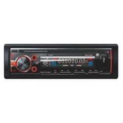 3242-RED Radioodtwarzacz samochodowy Voice Kraft 3242 czerwony