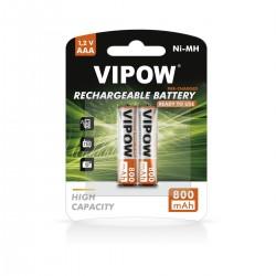 Baterijos VIPOW HR3 800 mAh Ni-MH 2pc/bl RTU
