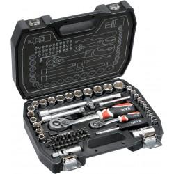 """YT-38782 Zestaw narzędziowy 1/2"""", 1/4"""", 72 części, M"""
