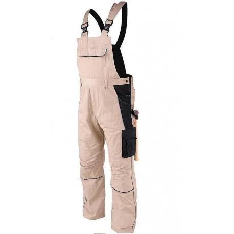 YT-80449 Spodnie robocze ogrodniczki Dohar rozmiar XXL
