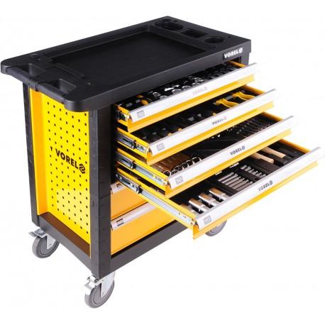 58540 Serviso spintelė su 6 stalčių įrankiais