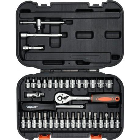 """58640 Zestaw narzędziowy 1/4"""" 38 części XS"""