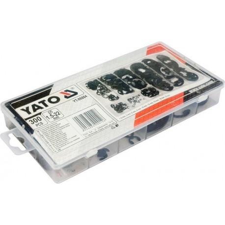 YT-06884 300 sztuk zawleczki typu E mix rodzajów