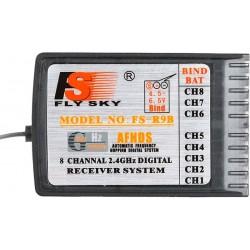 """""""FlySky FS-R9B 8CH AFHDS 2.4GHz"""" imtuvas"""