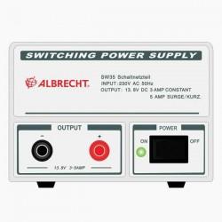 0304501 Zasilacz impulsowy Albrecht SW102 10/12A