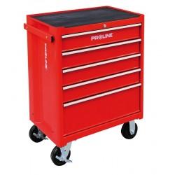 33116 Wózek warsztatowy 5 szuflad, wyposażenie 193 elementy, Proline