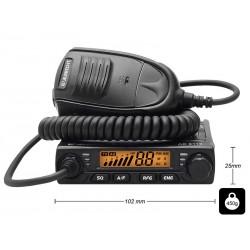 24-261 Radijas CB Albrecht AE-6110 mini AM/FM/ASQ