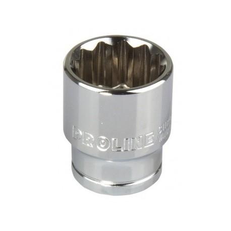 18565 Nasadka 1/2 cala 12pkt CrV 14mm, L:38mm, Proline