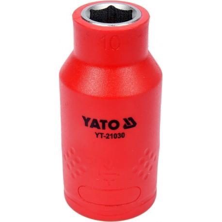 YT-21030 Nasadka izolowana 10mm 1/2 cala 6-kątna VDE