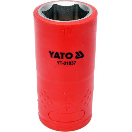 YT-21037 Nasadka izolowana 17mm 1/2 cala 6-kątna VDE