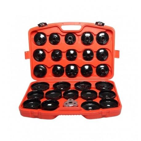46887 Zestaw kluczy nasadowych do filtrów oleju 30 sztuk, Proline