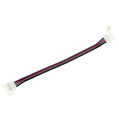 5746 Konektor do taśm Led łącznik 10mm RGB przewód