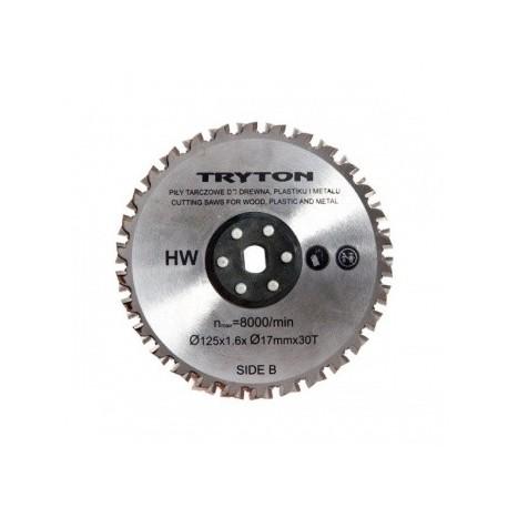 EATPD01 Tarcze tnące TCT 125x30mm para