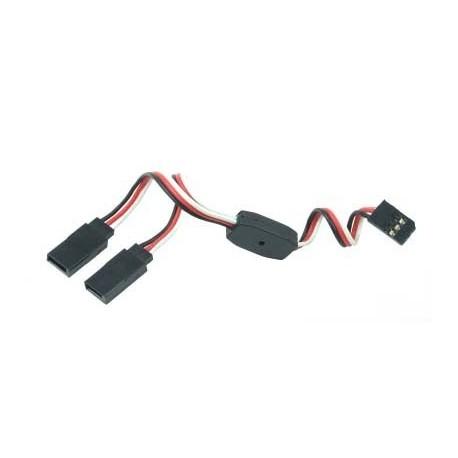 Y - kabel rozgałęziacz Futaba 60cm 26AWG prosty
