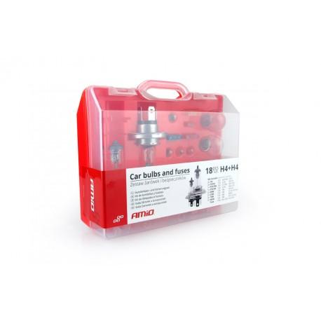 01494 Zestaw żarówek i bezpieczników 19 sztuk (2xH7)