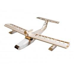 """Seaplane Balsa KIT"" orlaivis (1600mm) + variklis + ESC + 4x Servo"