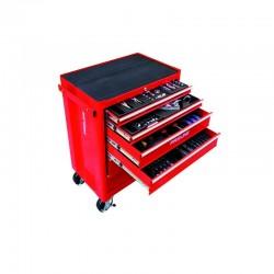 33117 Wózek warsztatowy 6 szuflad wyposażenie 193 elementów. Proline
