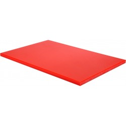 YG-02180 Deska do krojenia 600x400x20mm czerwona