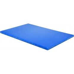 YG-02183 Deska do krojenia 600x400x20mm niebieska